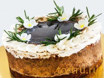 """Торт """"Бананово-шоколадный"""", Онтроме, кафе-кондитерская, Санкт-Петербург"""