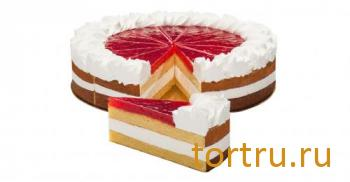 "Торт Фреш ""Чизкейк Малина"", Кристоф, кондитерская фабрика десертов, Санкт-Петербург"