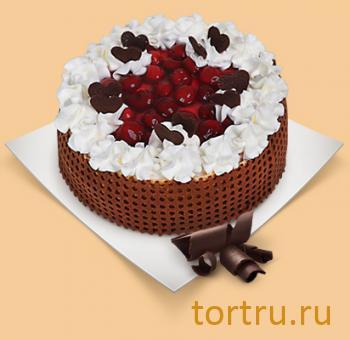 """Торт """"Вишнево-шоколадный"""", Шереметьевские торты, Москва"""