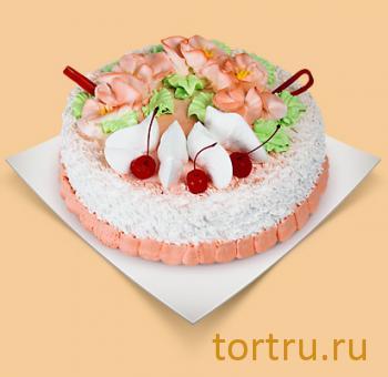 """Торт """"Йогуртовый вишневый"""", Шереметьевские торты, Москва"""