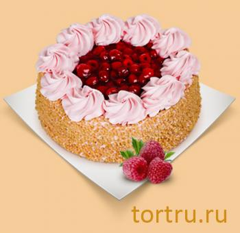 """Торт """"Малина со сливками"""", Шереметьевские торты, Москва"""