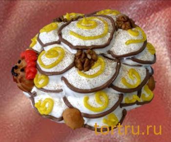 """Торт """"Черепашка"""", Кондитерский цех Чайный стол, Новосибирск"""