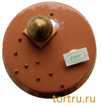 """Торт """"Карамельный с грушей"""", Леберже, Leberge, кондитерская"""