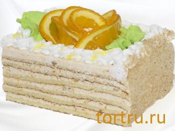 "Торт ""Апельсин"", Кондитерский цех Каньон, Белгород"