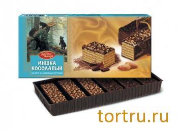 """Торт вафельный """"Мишка Косолапый"""", Красный Октябрь"""