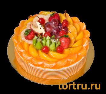 """Торт """"Мусс Апельсин"""", французская кондитерская Шантимэль, Москва"""