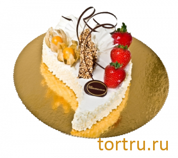 """Торт """"Капля"""", французская кондитерская Шантимэль, Москва"""