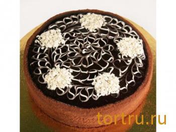 """Торт """"Ажур с какао"""", кондитерский дом Богатырь, Боровск"""