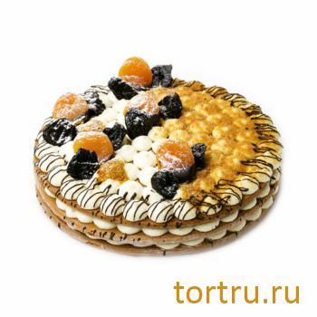 """Торт """"Северный мед"""", Кондитерский дом Renardi, Москва"""