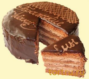 """Торт """"Пражские каникулы"""", Хлеб Хмельницкого, Ставрополь"""