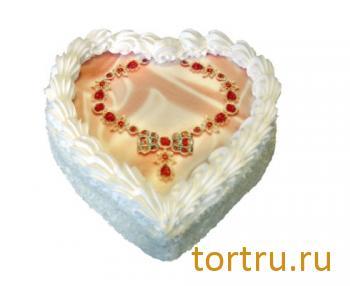 "Торт ""Колье для любимой"", Кузбассхлеб"
