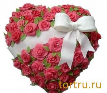 "Торт ""Любимый. Сердце"", Хлебокомбинат Кольчугинский"