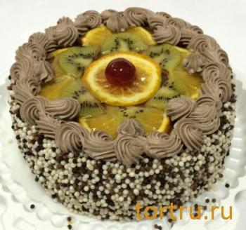 """Торт """"Шоколадно-Банановый"""", кондитерская Сладушка, Тюмень"""