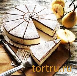 """Торт """"Рикотта с Грушей"""", булочная кондитерская """"За Мечтой"""""""