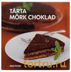 """Торт """"Миндальный, с темным шоколадом"""", Икея"""