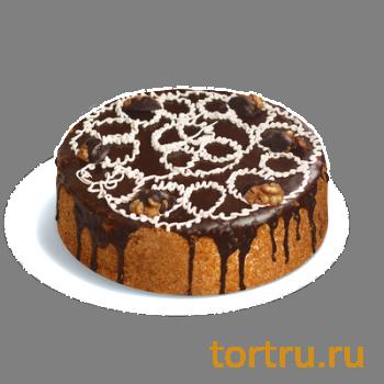 """Торт """"Медовый со сливочным кремом"""", кондитерская фабрика Сластёна, Чебоксары"""