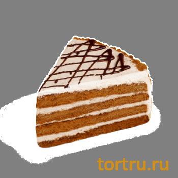 """Торт """"Медовый"""", кондитерская фабрика Сластёна, Чебоксары"""
