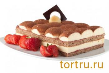 """Торт """"Тирамису Клубничный"""", Кристоф, кондитерская фабрика десертов, Санкт-Петербург"""