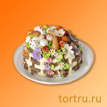 """Торт """"Подарочный с бананом"""", Пятигорский хлебокомбинат"""