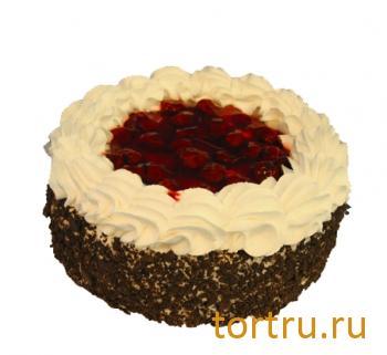 """Торт """"Вишнево-творожный"""", ТВА, кондитерская фабрика, Москва"""