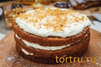 """Торт """"Домашний"""", кондитерская Ваниль"""