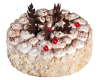 """Торт """"Черный лес"""", кондитерская фабрика Метрополис"""