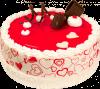 """Торт """"Сочная клубника в ванильном йогурте"""", кондитерская фабрика Метрополис"""