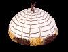 """Торт """"Пончо с ананасом"""", кондитерская фабрика Метрополис"""