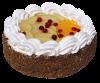 """Торт """"Фантазия с фруктами"""", кондитерская фабрика Метрополис"""