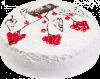"""Торт """"Творожно-вишневый"""", кондитерская фабрика Метрополис"""
