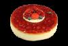 """Торт """"Чиз-кейк Калифорния с клубникой"""", кондитерская Крем Роял, Москва"""