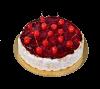 """Торт """"Вишневая шарлотка"""", французская кондитерская Шантимэль, Москва"""