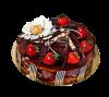 """Торт """"Крем карамель"""", французская кондитерская Шантимэль, Москва"""