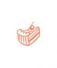 """Торт """"Творожно-ягодный"""", кондитерская Ваниль"""