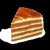 """Торт """"Медовый с карамелью"""", кондитерская фабрика Сластёна, Чебоксары"""