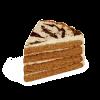 """Торт """"Медовый с лесными ягодами"""", кондитерская фабрика Сластёна, Чебоксары"""